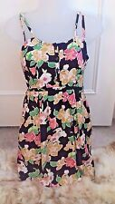 Pins Needles @ Urban Outfitters Floral & Color Multi Vestido Talla XS 8
