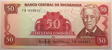 - Très beau billet - NICARAGUA - 50 Cordobas - 1985 - Neuf -