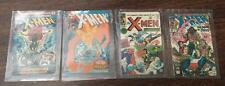 Set(4) Marvel Comic Book X-MEN 1994 Unused/Unscratched Prepaid Phone Cards MINT