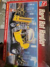 1998 AMT ERTL Hard Hat Hauler Model Kit Open Box