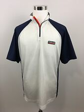 Vintage Polo Sport Ralph Lauren Bicycle Cycling Jersey Shirt Men's Size Large