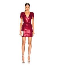 HANEY LYZ CRIMSON RED SEQUIN DRESS sz 10