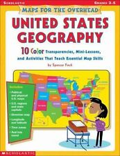 New - Maps For The Overhead: United States Geography by Finch, Spencer