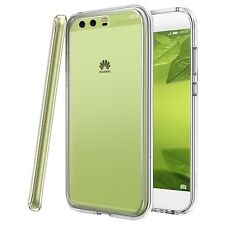 For Huawei P10 Plus - Tough Thin Clear TPU Gel Case Cover Skin