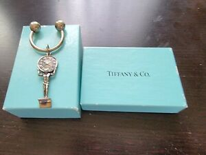 """Tiffany & Co. Key Chain Sterling Silver """"Limited Edition"""" 1990's, MB388"""
