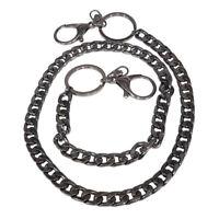 Men Boys Long Hip Hop Trucker Rock Biker Keychain Jean Waist Ring Dancer Chain