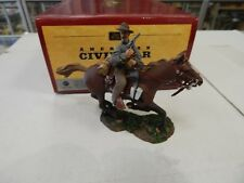 Britains American Civil War Confederate Cavalry Trooper Charging w/ Pistol