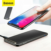 Baseus 10W QI Wireless Charger Charging Pad Dock for iPhone XS XR Samsung S10 S9