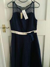 94fb1145eae lindy bop party navy blue dress size 12
