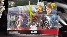 NEW & Sealed Disney Infinity 3  Star Wars Twilight of the Republic Play Set Pack