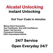ALCATEL UNLOCK 4052R/4052Z/4052W/4052C/4044O/4044N/4044W SERVICE REMOTE