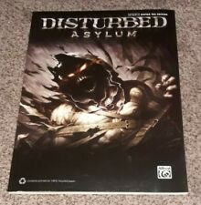 DISTURBED Asylum Authentic GUITAR TABLE Edition Book ALFRED