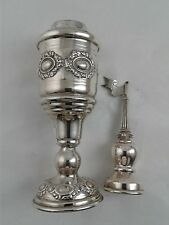 Besamim Spice Tower Spice Box Grape Design Judaica - Sterling Silver 925 - 92 g