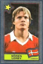 PANINI FOOTBALL SUPERSTARS 1984 -DENMARK-SOREN LERBY