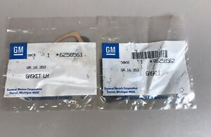NOS 1973 - 1987 CHEVY GMC TRUCK OUTSIDE DOOR HANDLE GASKETS  PAIR GM