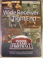 Playing Wide Receiver & Tight End (DVD) Inside the Game of Football BRAND NEW!