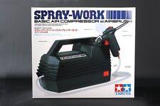 Tamiya 74520 Spray-Work Basic Air Compressor w/Airbrush Cap