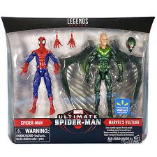 Hasbro Marvel Legends Ultimate Spider-man & Vulture 2 Pack NEW
