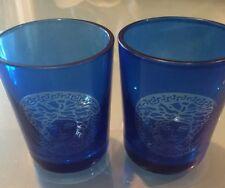 Set Of 2 Authentic Versace Shot Glasses 3.5'H Vintage