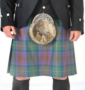 "Ex-Hire Isle of Skye 8 Yard 13oz wool kilt - £99 - 23""/24""/25"" drops available"