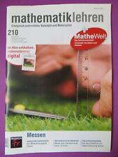 Zeitschrift Din A4 mathematik lehren Heft 210 Feb 2018 Messen