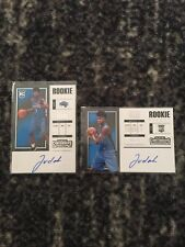 2017-18 Jonathan Isaac Contenders Rookie Ticket Auto /125 /75 RC Lot Magic