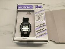 NEW CASIO WQV-2-1DR WRIST CAMERA WATCH VINTAGE