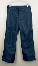 Columbia Youth 18/20 Snowpants Gray Insulated Snowboarding Sking Wear Q4