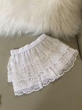 NEW Carter's Baby/Toddler Girl 12 Month Tutu Skirt White