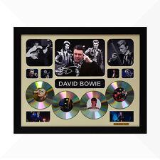 David Bowie Signed & Framed Memorabilia - 4CD - Ivory - Limited Edition