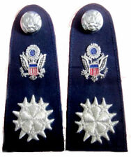 NEW US AIR FORCE SIX STAR CHIEF COMMODORE CP MADE HIGH QUALITY SHOULDER BOARDS