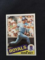 1985 Topps George Brett NM Mint Condition High Grade PSA Worthy