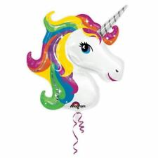Palloncini irregolare per feste e party, tema unicorni