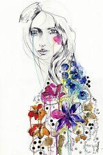 FANTASY ART PRINT Lost Holly Sharpe