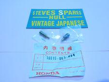 vintage motorcycle parts,PC50K1,PF50 ,CARB SCREWS 16016-063-004