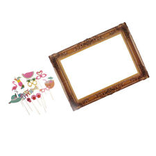 Tropical Photo Booth Prop Frame and Hand Held Photo Booth Prop Background