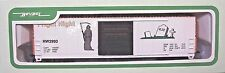 HO 1/87 sc LL by Bev-Bel Halloween Fright Night 50' Evans Box Freight Car NIB