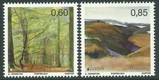 Luxembourg 2011 - Europa Forests Tree Landscape Plants - Sc 1312/3 MNH
