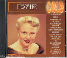 Peggy Lee - Gold (14 classic tracks on CD)