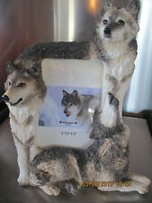 Wolf Trio ~ Picture Frame #7