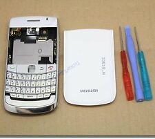 COQUE COMPLET FACADE CHASSIS REMPLACEMENT BLACKBERRY BOLD 2 9700 BLANC + CLAVIER