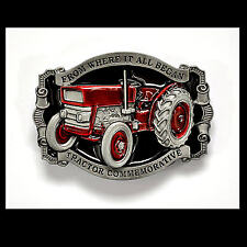 Oldtimer Traktor Schlepper Trecker Belt Buckle vintage Gürtelschnalle *302