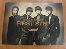CNBLUE - First Step [OFFICIAL] POSTER *NEW* K-POP