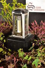 Grablampe   Grablaterne   Grabschmuck   Grablicht aus Edelstahl ->NEU<-