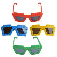4 Lego Brick Block Sunglasses|Brick Block Party|Party Favours|Party Bag Fillers