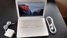 "Apple MacBook White.13"" a1342. MC516LL/A. 250GB HDD.4 GB RAM. Great! Screen."