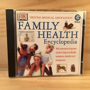 FAMILY HEALTH ENCYCLOPEDIA Home Educational Reference PC Game Software (2001) DK