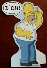 The Simpsons Homer Simpson D'oh Stand-Up Character Card