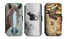 Samsung Galaxy Flip Etui Tasche Handyhülle Case Cover Schutz Pferd Motiv Bild s1