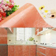 High Gloss Floral PVC Contact Paper Oil Proof Kitchen Wallpaper Cupboard Cover